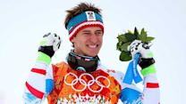 Matthias Mayer's surprising run wins gold