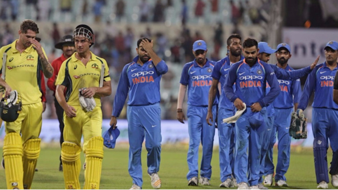 In Stats: India rise to No.1 in ICC ODI rankings