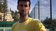 Novak Djokovic caught being told off by his wife after Jelena forgets to end Facebook Live video
