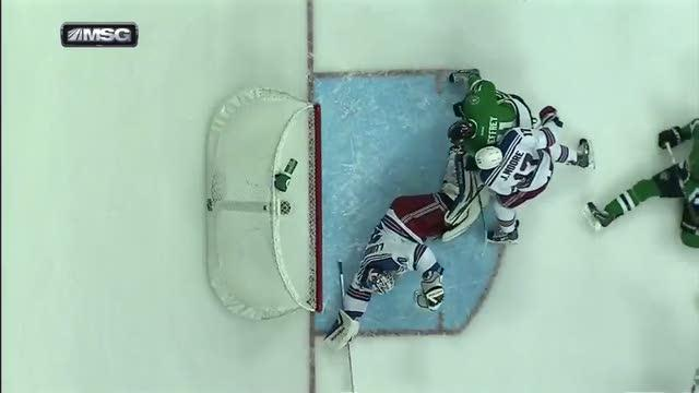 Henrik Lundqvist steals one from Ryan Garbutt