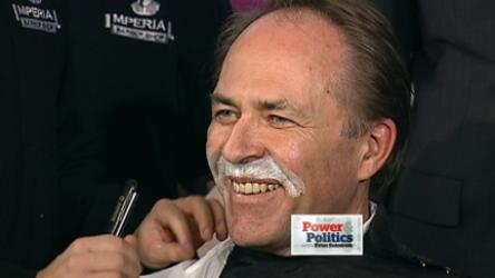 Movember MPs get shaved