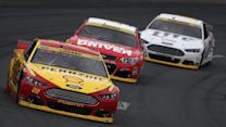 Harvick, Kes finish well despite adversity