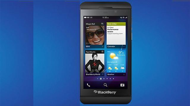 Hands-on with the new BlackBerry Z10