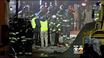 Investigation Under Way As Search Continues At East Harlem Blast Site