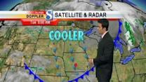 Video-Cast: Cooler Temps Ahead