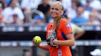 Jennie Finch's exhausting day