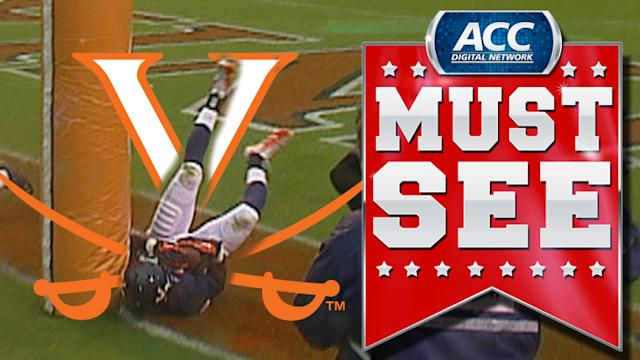 UVA's Tim Smith Makes Great Diving TD Catch   ACC Must See Moment