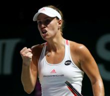 Kerber outlasts Cibulkova in WTA Finals opener