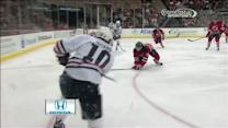 Patrick Sharp scores from sharp angle