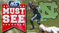 UNC's Eric Ebron Breaks Tackle For 71-Yard Touchdown | ACC Must See Moment