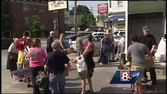 Good Shepheld Food Bank helps out Biddeford