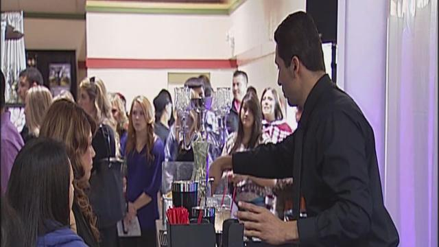 Hundreds turnout to wedding show at Kern County Fairgrounds.