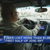 Uber lost more than $1.2B first half of 2016: Report