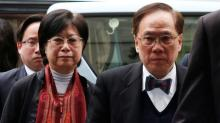 """Ex-Hong Kong leader jailed in fall from """"such a height"""""""