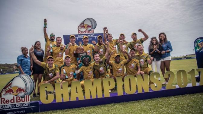 This time for Africa! North-West University, South Africa, emerge as Red Bull Campus Cricket 2017 champions