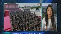 China flexes its muscles with military parade