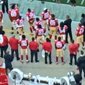 A complete disrespect: Colin Kaepernick refusing to stand during the National Anthem