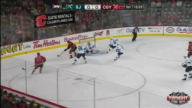 San Jose Sharks at Calgary Flames - 01/30/2014