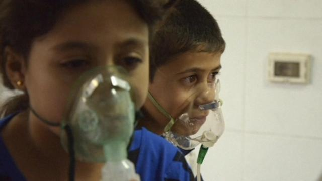 Kerry says evidence from Syria tests positive for sarin