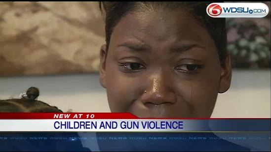 Mother of a 1-year-old shooting victim talks about daughter's recovery