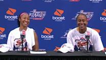 Postgame: Tamika Catchings