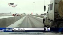 Icy Roads Still Cause Issues Saturday Morning