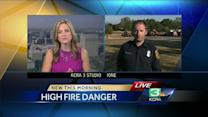 Cal Fire on alert for high fire danger this weekend