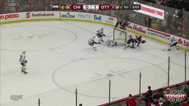 Chicago Blackhawks at Ottawa Senators - 03/28/2014