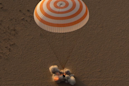 Watch NASA record-breaker Peggy Whitson return to Earth