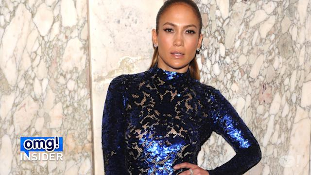 Jennifer Lopez Dazzles in Figure-Hugging Gown