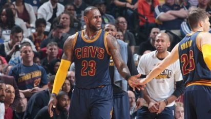 Cavs sweep Pacers in historically tight series