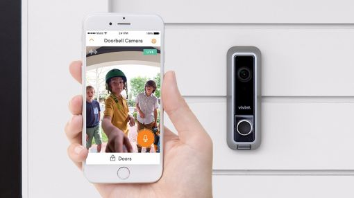 Doorbell camera. View your front door.