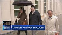 Shkreli thanks supporters as he heads into court