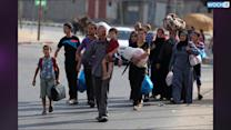 Thousands Of Palestinians Flee Northern Gaza
