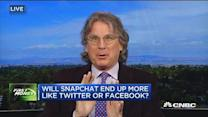 McNamee: Snapchat more like Twitter than Facebook