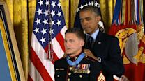 Marine hero receives Medal of Honor