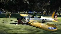 Actor Harrison Ford injured in plane crash