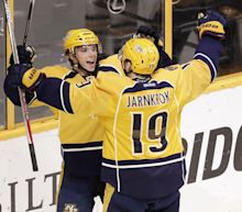 NHL Three Stars: Depleted Preds handle Pens; Vesey leads comeback