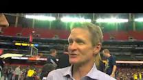 Steve Kerr talks Michigan, Final Four, and broadcasting