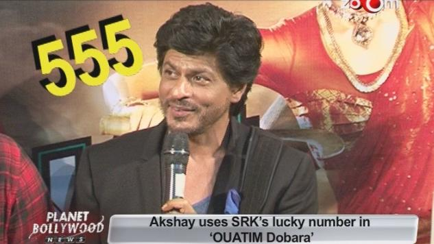 Akshay Kumar uses Shahrukh lucky number in Once upon a time in Mumbai Dobara