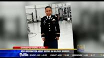 New information about motive in military murder