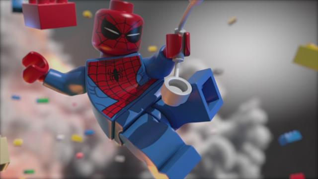LEGO Marvel Super Heroes Sneak Peek Trailer