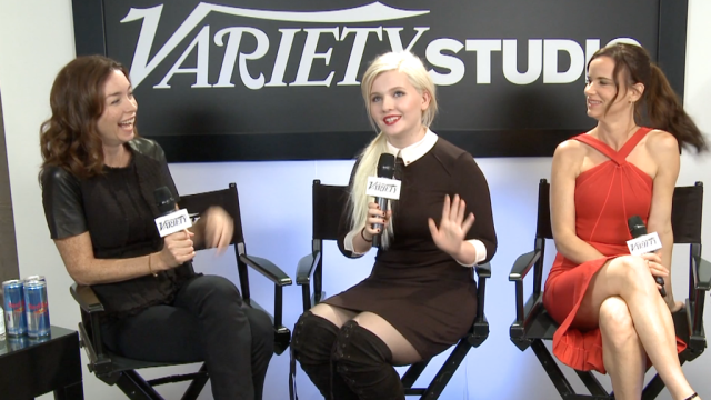 Abigail Breslin and Juliette Lewis Talk August Osage County – TIFF 2013