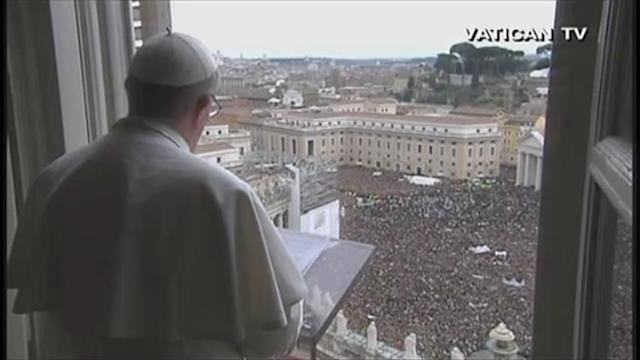 A pope amongst the people