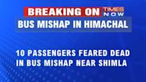 Bus mishap in Shimla, 20 people killed