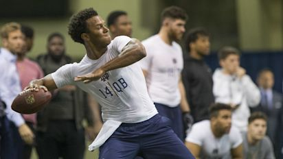 Kizer puts on a show for scouts at pro day