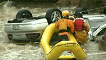 Inside dramatic rescue of driver from Colorado floodwaters