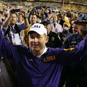 Les Miles looks back on 'great run' at LSU, hopes to coach again
