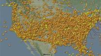 Thousands of Flights Canceled Due to Hurricane Sandy