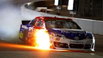 Tire issues spark flames in Richmond
